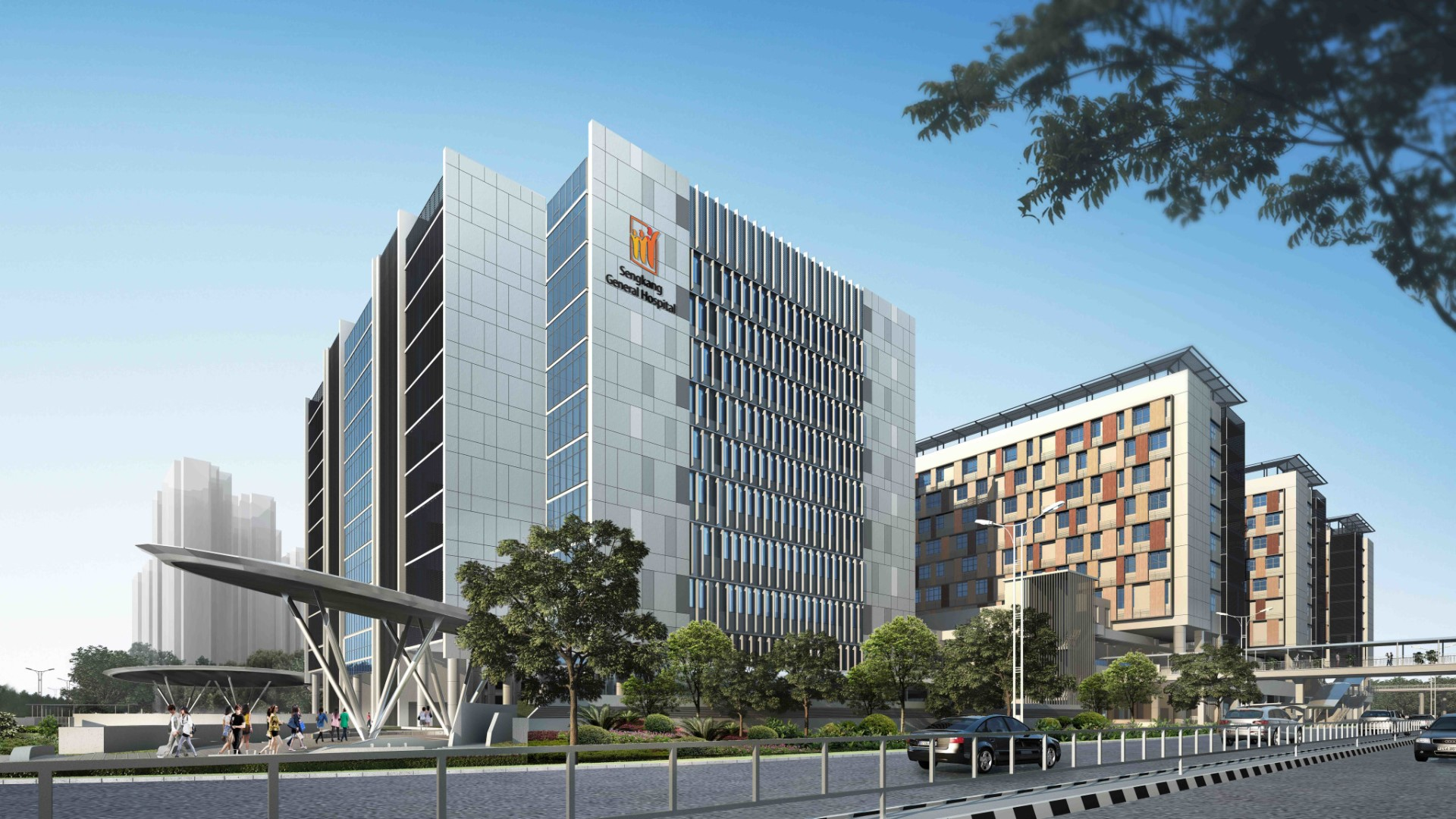 Air-Conditioning and Mechanical Ventilation Control for Sengkang Hospital