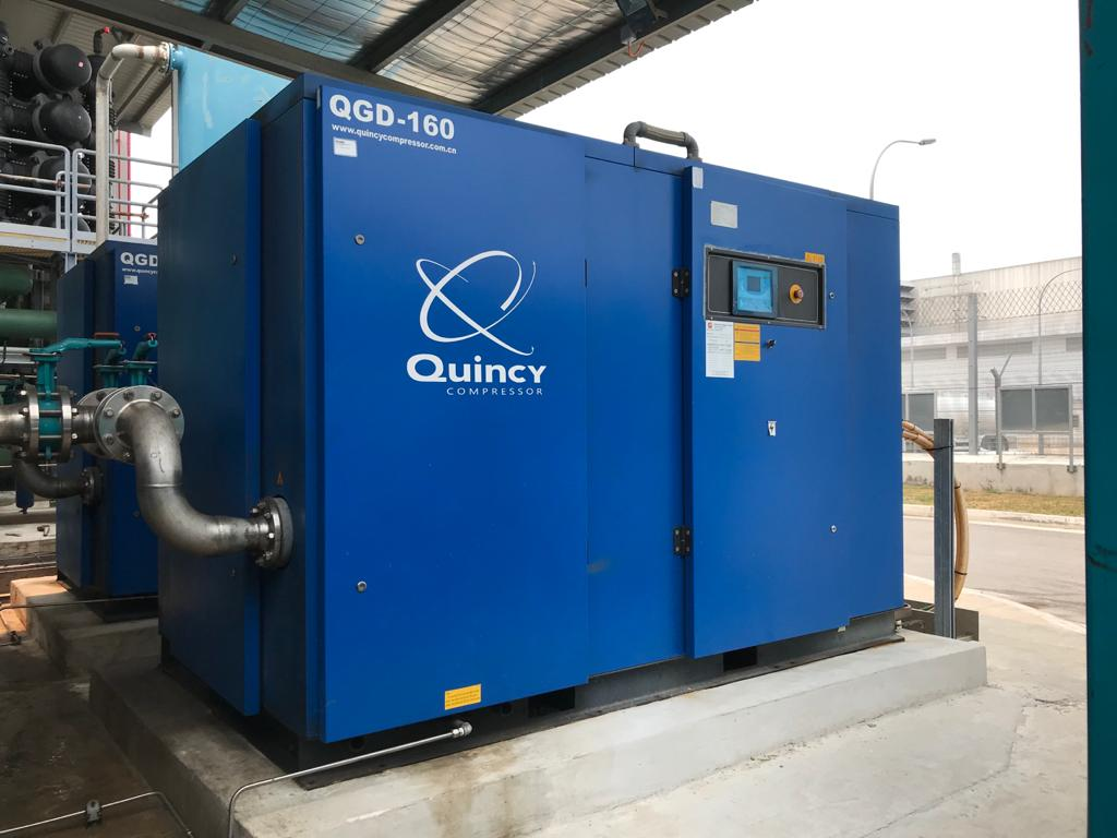 Air-Compressor System for Tuas Spring Desalination Plant